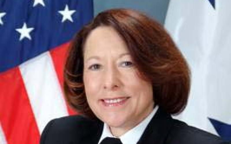 Vice Adm. Nancy Brown, USN (Ret.), served for 35 years in the male-dominated communications field, retiring after serving as director of command, control, communications and computer systems (C4 Systems) on the Joint Chiefs of Staff.