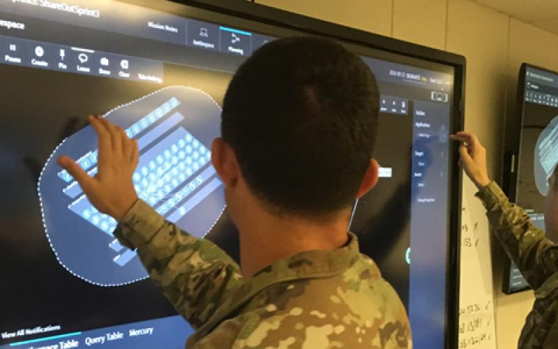 """Army Cyber Protection Team members use Plan X during what is called """"surge week,"""" designed to gather user feedback about a system's functionality. That feedback identifies and prioritizes new requirements to be incorporated in follow-on surge weeks."""