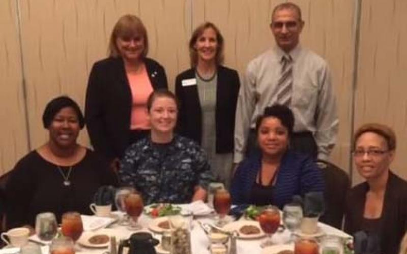 The Hampton Roads Chapter hosted a viewing of The Computers, a Women in AFCEA initiative.