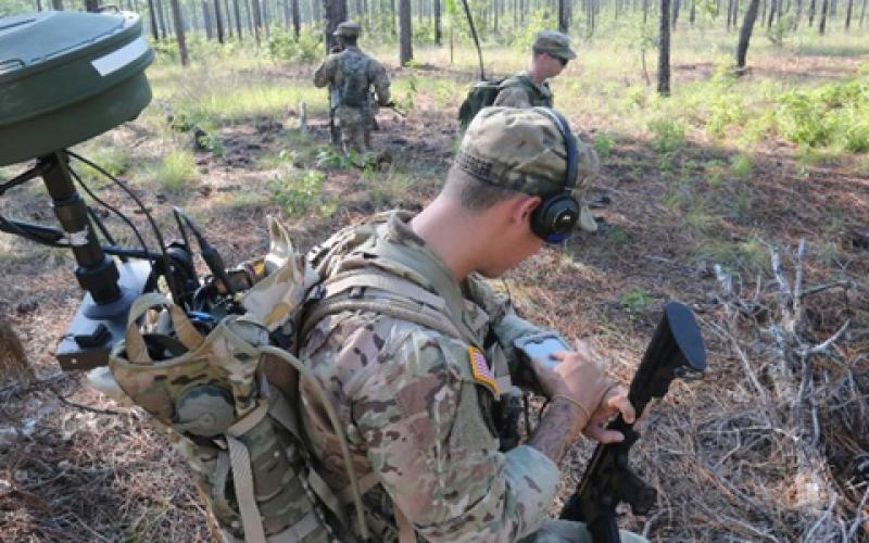 Soldiers will experiment with a range of cyber, electronic warfare and signal technologies during Cyber Quest 2017.  (Photo courtesy CCoE Public Affairs)