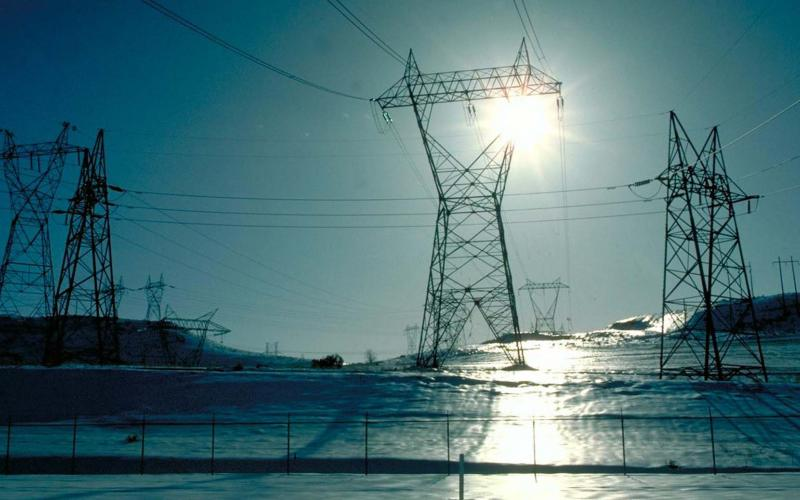 Power lines, such as these near the Celilo substation in Dallas Dam, Oregon, could go cold as a result of a cyber attack on the power grid. Adversaries already may have sown the seeds for shutting down power stations by embedding malware in a host of industrial control systems.