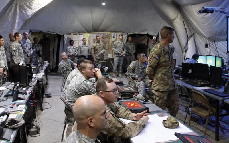 With a goal of improving unit and system readiness, the standard U.S. Army's supply system leverages commercial information technology in the command, control, communications, computers, intelligence, surveillance and reconnaissance domain. U.S. Army photo