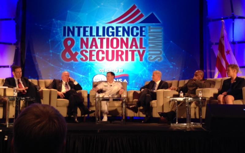 A final plenary session features a panel comprising the six directors of U.S. intelligence agencies.