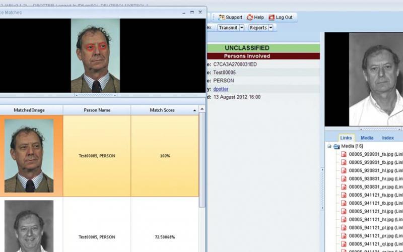 The Dfuze software suite provides a facial recognition element.