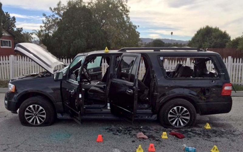 Syed Farook and his wife, Tashfeen Malik, were killed in a shootout with law enforcement officials after carrying out a deadly mass shooting in December in San Bernardino, California. Technology developed by the Department of Homeland Security and Berla allows law enforcement agencies to access the data collected by automobile computers when terrorists use cars in crimes.