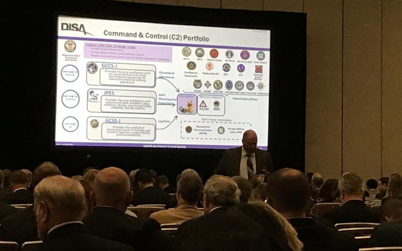DISA showcased several acquisition and procurement plans that will shape the future of the Defense Department, which aims to embrace technological developments such as commercial cloud services, mobility and the Internet of Things.