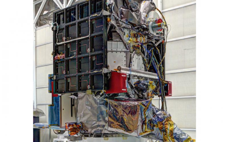 DSCOVR spacecraft at NASA's Goddard Spaceflight Center, Greenbelt, Maryland.