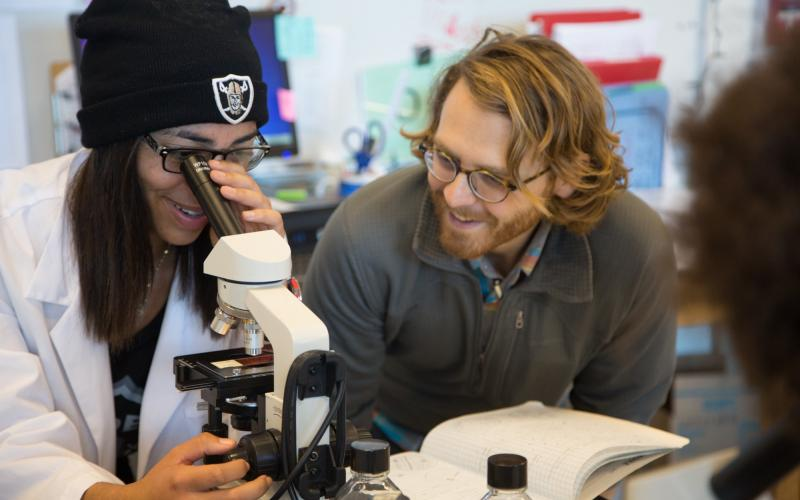 AFCEA's STEM Teacher Scholarship award enables Jeremy Jonas, a biology and biotechnology teacher at Tucson High Magnet School in Tucson, Arizona, to outfit his science classroom with microscopes and other equipment and supplies so he can better engage with his students.