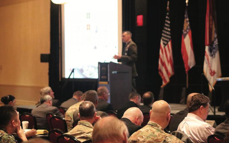 At the Cyber Education, Research, and Training Symposium 2019, Brig. Gen. Dennis A. Crall, USMC, (now a Maj. Gen.) principal deputy cyber adviser, Office of the Secretary of Defense, said warfighter education and training must focus on mission preparation.