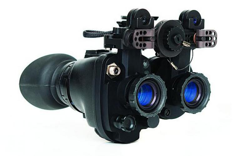 When networked in the ISS, the i-Aware TM-NVG night vision system can send imagery in real time back to headquarters, and it also can receive imagery or data from headquarters for display in the warfighter's eyepiece.