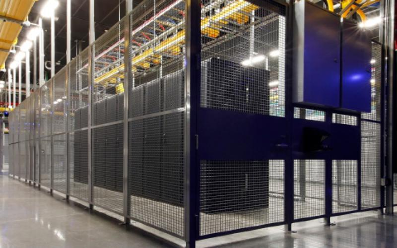 Multitenant data centers such as this Ashburn, Virginia, Equinix International Business Exchange facility are providing the physical link to cloud service providers.