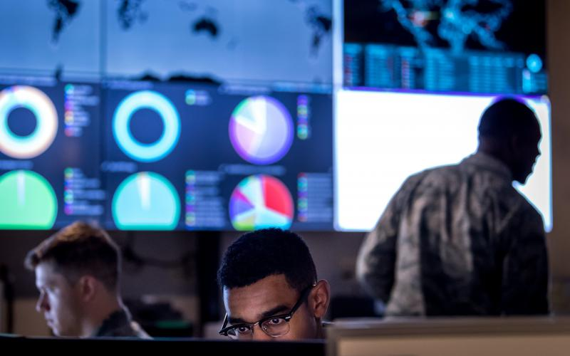 The Defense Department has taken the first steps to build the foundational framework of zero trust, so the military community doesn't need to start from scratch in this proven support. Credit: U.S. Defense Department/J.M. Eddins Jr.