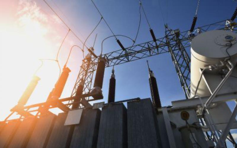 The sun could be a grid transformer's worst enemy if a powerful coronal mass ejection hits the Earth, generating a geomagnetic surge saturating power lines with an electrical field that melts down metal elements in substations.  mr. teerapon tiuekhom/Shutterstock