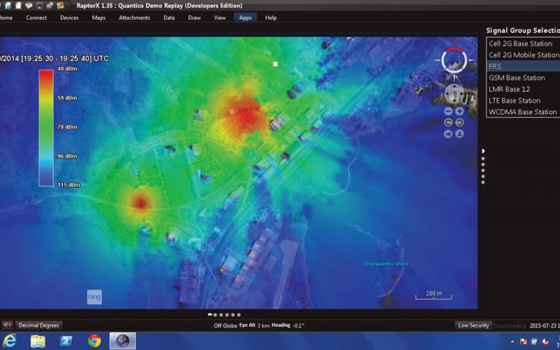 Mobile Spectrum Tool RadioMap Moves to the Marines | SIGNAL