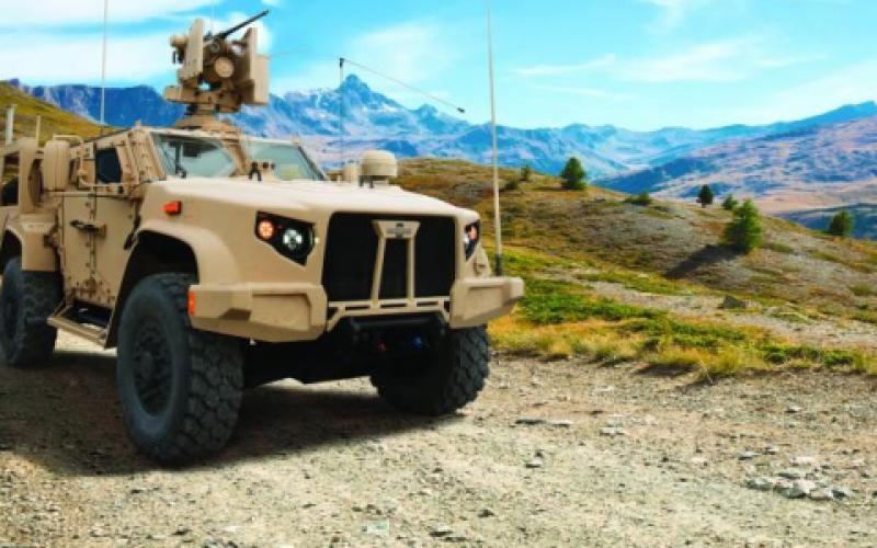 Laser weapons could be integrated into all future Marine Corps vehicles, such as the Joint Light Tactical Vehicle, or JLTV, says Jeff Tomczak, deputy director of the Science & Technology (S&T) Division at the Marine Corps Warfighting Laboratory. Oshkosh Defense