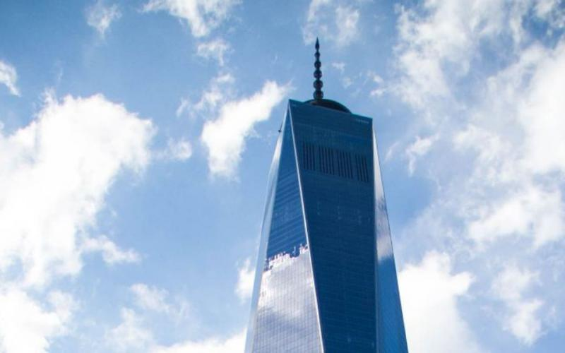 Out of the ashes of terrorism, the new One World Trade Center building rises 1776 feet above Lower Manhattan as a symbol of national resilience. Spinel/Shutterstock