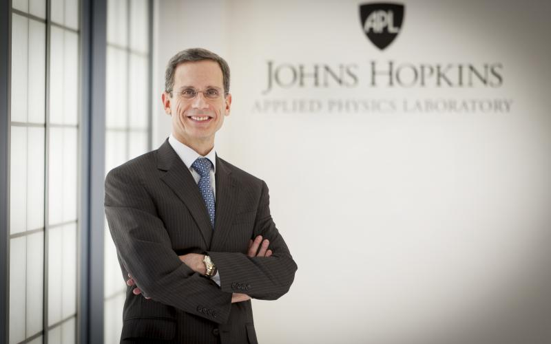 Ralph Semmel, director of the Johns Hopkins University Applied Physics Laboratory
