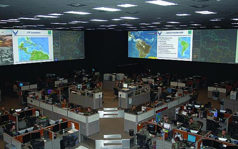 Air operations centers, like the 612th air and space operations center at Davis-Monthan Air Force Base, Arizona, are the command and control centers for planning, executing and assessing joint air operations.