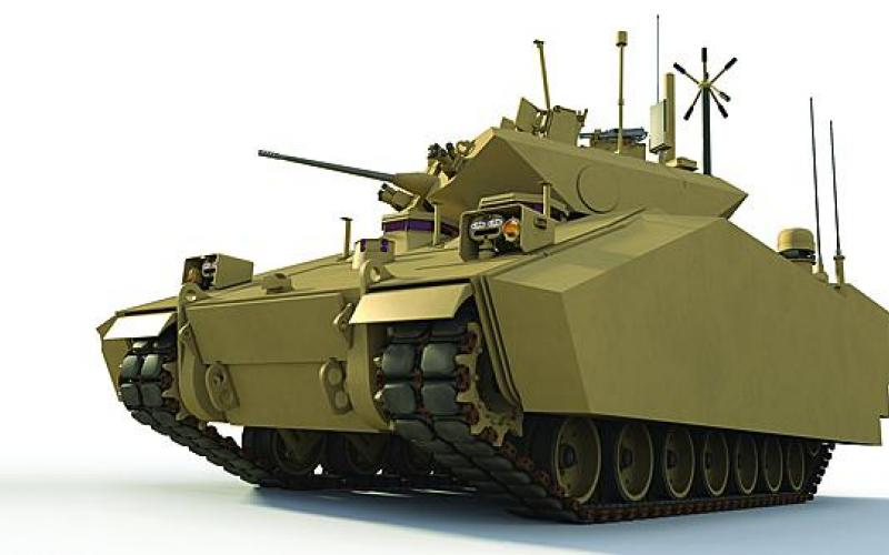 Future armored vehicles could include antennas integrated into the armor coating and other technologies designed to rid the service of whip antennas.