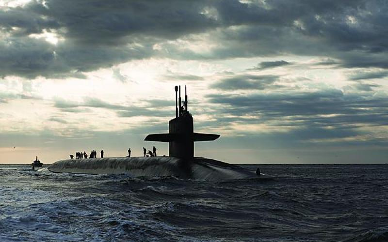 The Ohio-class ballistic missile submarine USS Rhode Island (SSBN 740) returns to Naval Submarine Base Kings Bay after three months at sea. The Ohio-class submarine replacement program has benefitted from the Better Buying Power initiative.