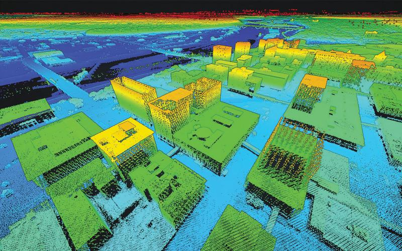 The U.S. Army Research Laboratory is looking for a way to collect 3D mapping datain an urban environment from multiple sources and craft it into a usable map without the many human analysts currently required to do so. Courtesy photo