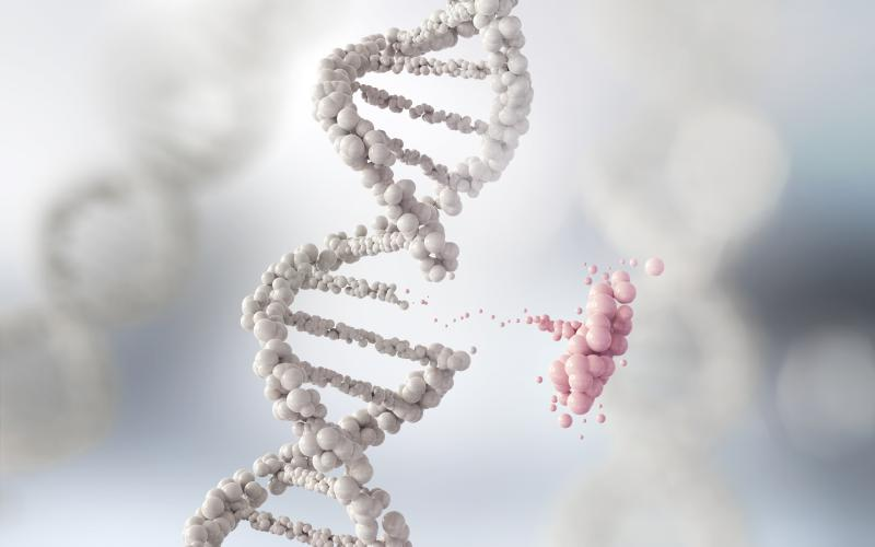 Molecular robots might one day replace defective genes, curing a wide range of diseases.  Anusom Nakdee/Shutterstock