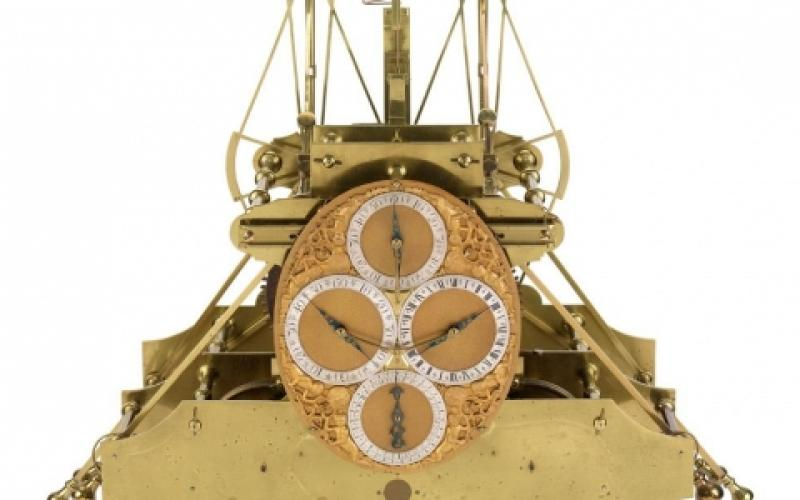 Clockmaker John Harrison invented the marine chronometer in response to a British naval disaster in 1707. The invention illustrated the benefits of time-based navigation over astronomy-centered techniques.