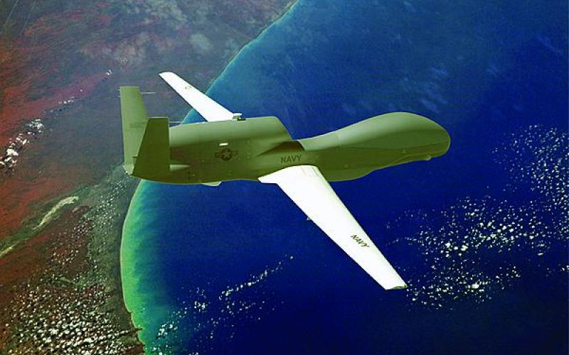 Unmanned air vehicles, such as the Global Hawk, can provide full-motion video and other intelligence, surveillance and reconnaissance data directly special operators equipped with the NG-TacMN.