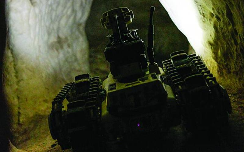 The NG-TacMN is capable of receiving reconnaissance data from unmanned ground vehicles, such as the Micro Tactical Ground Robot produced by Roboteam, Bethesda, Maryland, one of the NG-TacMN contractors. Persistent Systems LLC, New York City, and Azimuth Inc., Morgantown, West Virginia, also are on the NG-TacMN team.