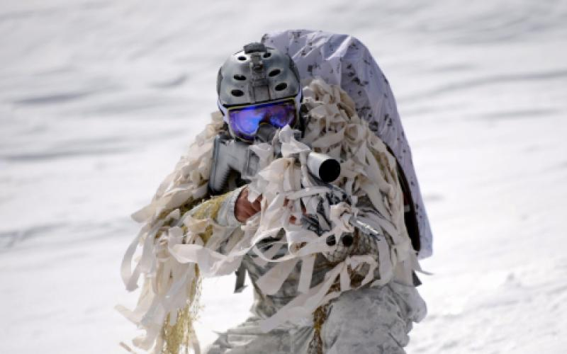 U.S. special forces operate in extreme and austere environments, requiring a wide range of capabilities, including undergarments that warm the body in cold weather and cool the body when it is hot.