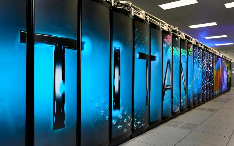 The U.S. Energy Department Oak Ridge National Laboratory's Titan supercomputer can churn through more than 20,000 trillion calculations each second. Superconducting materials could lead to computers capable of dramatically faster calculations using less power.