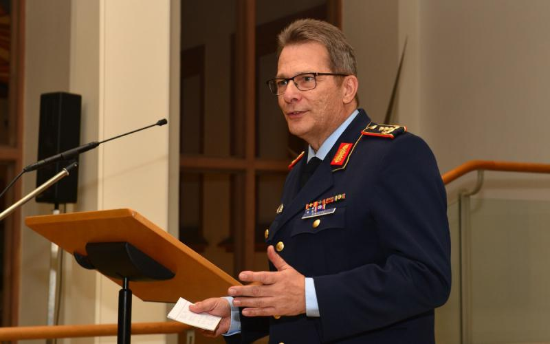 NATO's Joint Support and Enabling Command aims to reach full operational capability by September 2021, says its commander, Lt. Gen. Jürgen Knappe, GEAF, who is also the commanding general of the Multinational Joint Headquarters, Ulm.  Credit:JSEC/Schultze