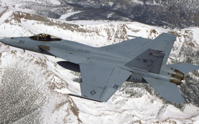 A U.S. Navy Naval Air Systems Command (NAVAIR) proof-of-concept project is using blockchain technology to manage the life cycle for new and spare parts supporting the service's F-18 fighter jets.  Photo courtesy of Boeing