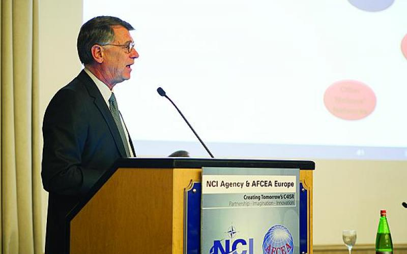 Dag Wilhelmsen, director of transition in NCIA, describes the agency's transformation efforts and how they will affect ongoing and future programs.