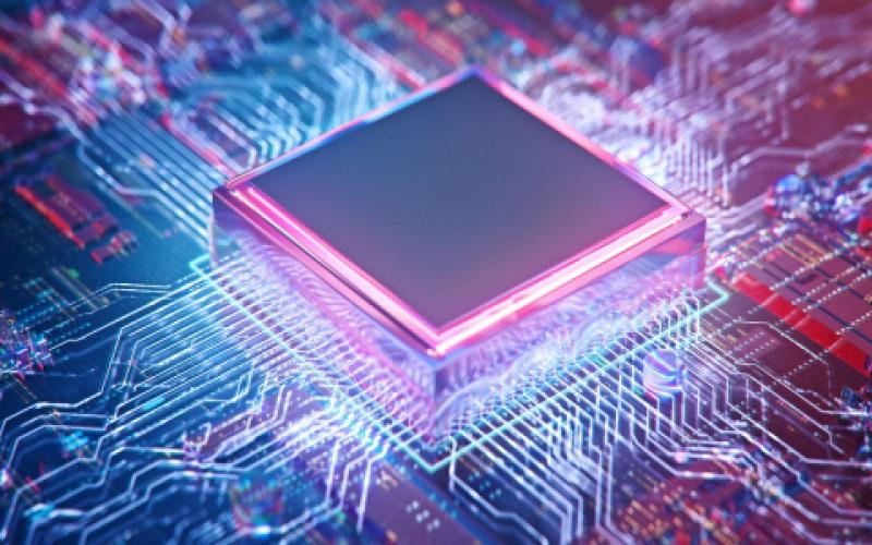 Some of DARPA's research into microelectronics is creating automatic security mechanisms integrated into the design of microchips, which are smaller than a grain of sand.  Connect world/Shutterstock