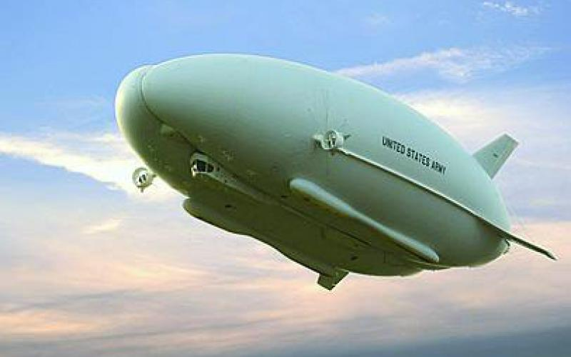 The Army/Northrop Grumman Long Endurance Multi-Intelligence Vehicle (LEMV) is a platform designed to remain at altitude for 21 days with a sensor payload. The hybrid airship carries a wide variety of sensors for intelligence, surveillance and reconnaissance.