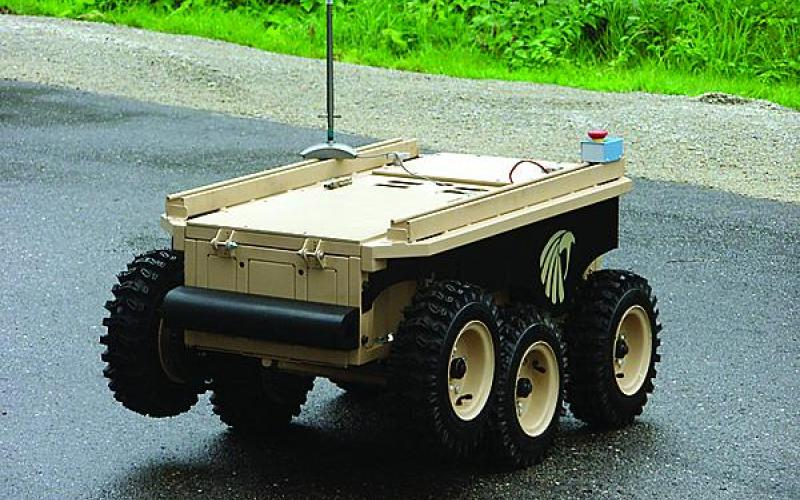 The Black-I Robotics LandShark unmanned ground vehicle is an open-source platform being used to write assured software. It shares some computer control features with modern automobiles, which are becoming increasingly vulnerable to system takeover by outsiders.