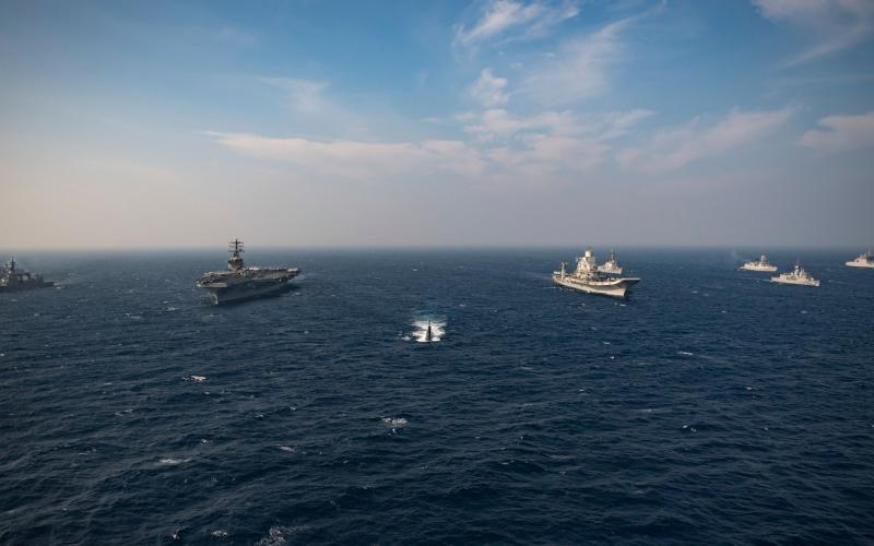 Naval ships from Australia, India, Japan and the United States take part in Malabar 2020, an annual exercise promoting security and interoperability in the Indo-Pacific region. Multilateral exercises such as this one are essential to building future interoperability among allied and partner nations for INDOPACOM.  U.S. Navy