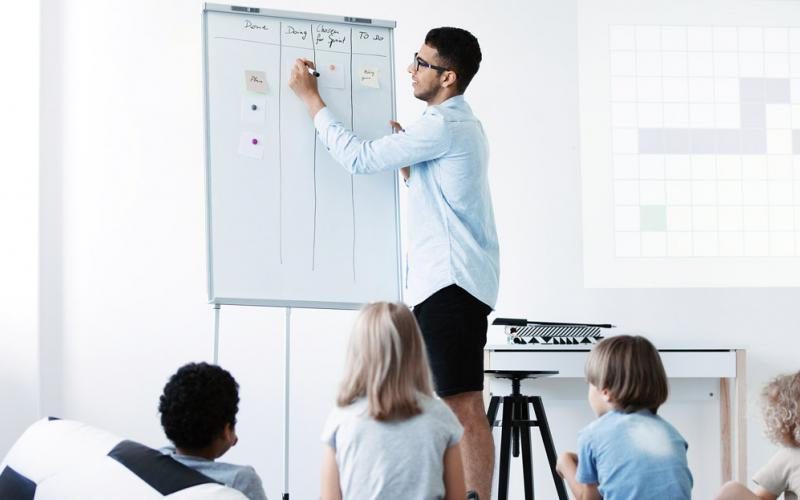 To attract more cybersecurity professionals into the teaching profession, school systems must change their qualifications requirements and revise recertification timelines. Credit: Photographee.eu/Shutterstock