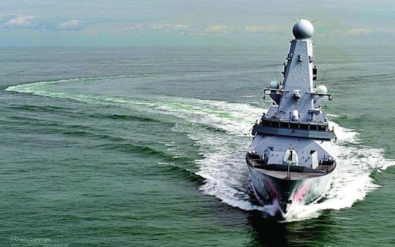 The HMS Dragon is the fourth of the U.K.'s six Type 45 destroyers--the most advanced warships the nation has ever built.