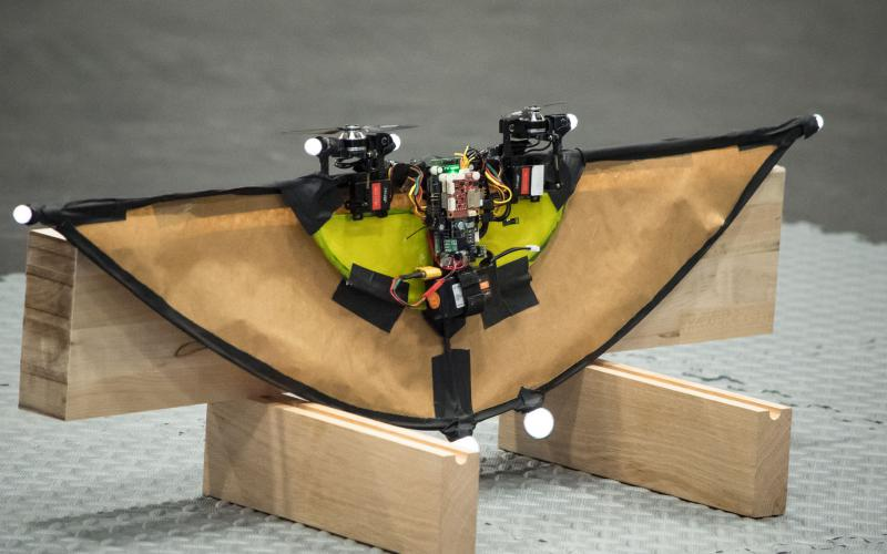 This ARL experimental drone transforms in midflight. Artificial intelligence research is leading to more sophisticated unmanned and autonomous aircraft to serve the force.