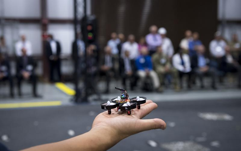 A decade of work by ARL, industry and university scientists produced small drones as part of the Micro Autonomous Systems and Technology (MAST) program. The ARL is looking to build on robotics technology advances in coming years.