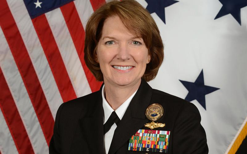 Vice Adm. Nancy A. Norton, USN, is the DISA director and commander of the Joint Force Headquarters-Department of Defense Information Network (JFHQ-DODIN).
