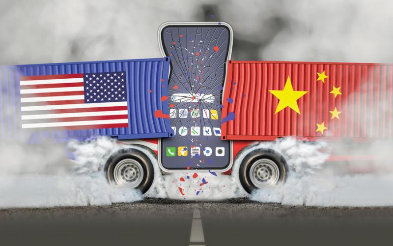 China and the United States are at odds over China's drive to have its cellular technology define 5G, the next generation of cell service. Other countries now are taking note and, in some cases, taking action to prevent a Chinese hegemony of that far-reaching capability. Credit: Shutterstock/Toa55