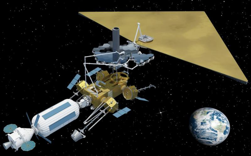 Future NASA space exploration missions may feature robots equipped with multiple construction arms assembling sophisticated telescopes capable of detecting exoplanets around other star systems. These robots would combine telerobotic control by humans with advanced autonomy.  NASA