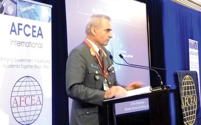 Lt. Gen. Wolfgang Wosolsobe, AUS, director general of the EU Military Staff, discusses EU military perspectives.