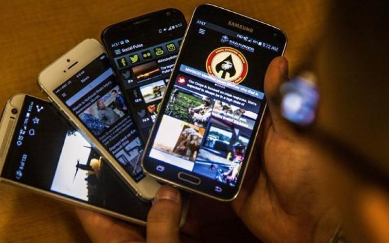 The U.S. Marine Corps landed on mobile devices with an official app, MarinesMobile. The free app is designed for anyone who wants access to news, press releases, videos, photos, administrative messages, directives and orders, and a social media feed.