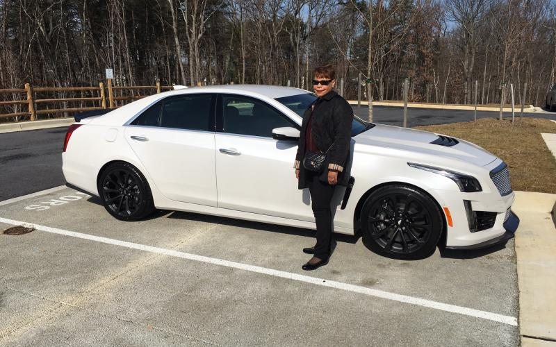 Former Lockheed Martin executive Linda Gooden has a passion for education, technology and, well, fast cars—such as her Cadillac CTS-V with 640 horsepower.