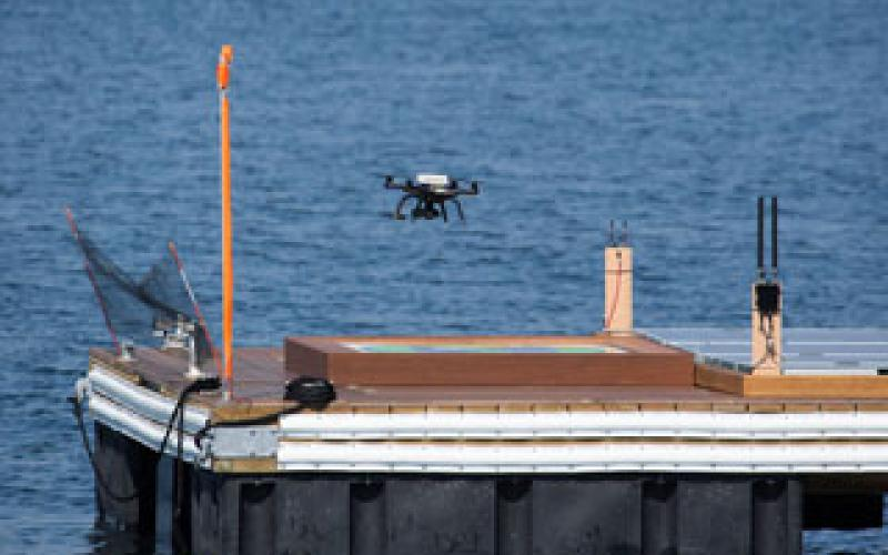 The U.S. Navy applies the Internet of Things concept to a variety of intelligence-gathering tools, such as drones, to share information in contested environments. Credit: James Travasos