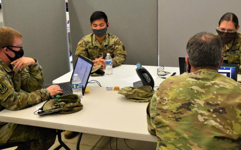 The COVID-19 pandemic has dramatically increased the need for online telework and has expanded the cyber attack vectors. U.S. Army Photo by Sgt. 1st Class Marco Baldovin